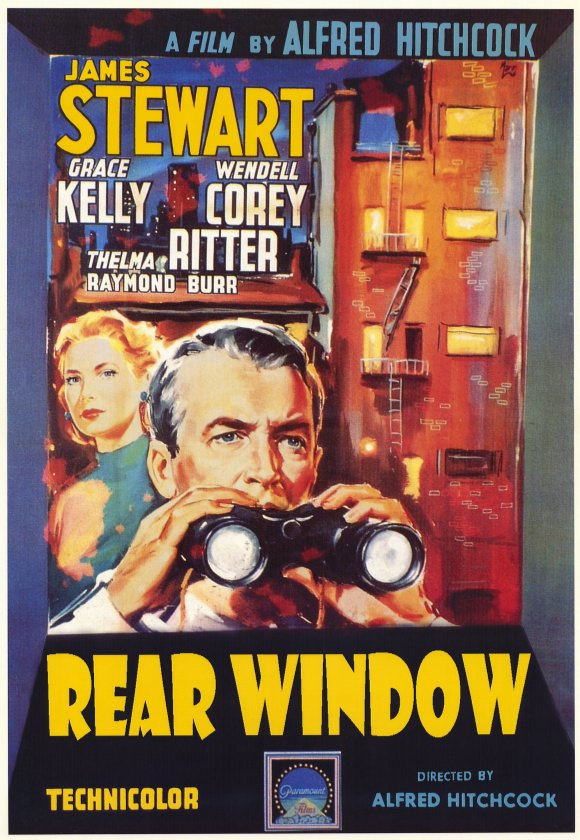 Cole Smithey - Film Blog: CLASSIC FILM POSTERS: REAR WINDOW