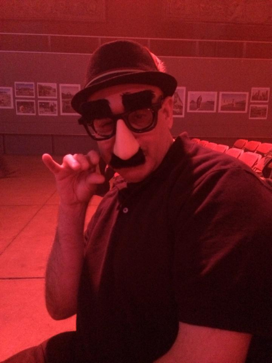 Cole as Groucho