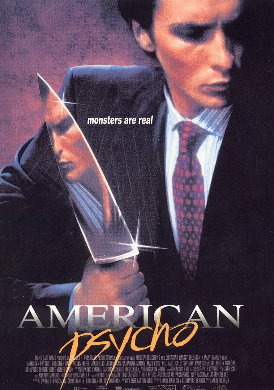Cole smithey reviews american psycho classic film pick american psycho made at the turn of the 21st century is a significant connecting link between the ruthless culture of corporate greed revealed in oliver reheart Images