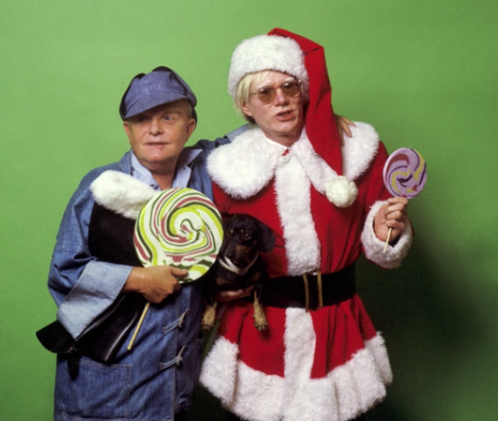 Capote and Warhol
