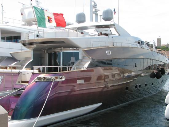 The Friedkin Yacht