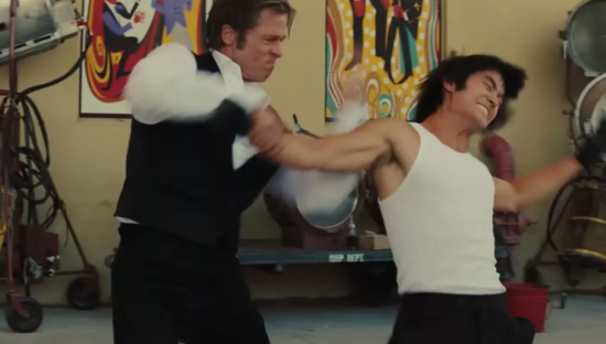 Brad Kicks Bruce Lee
