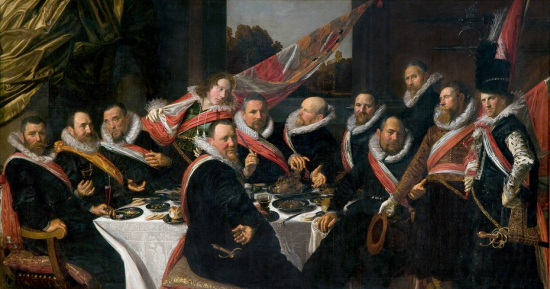 The-banquet-of-the-officers-of-the-st-george-militia-company-in-1616-frans-hals-1616-f941d503